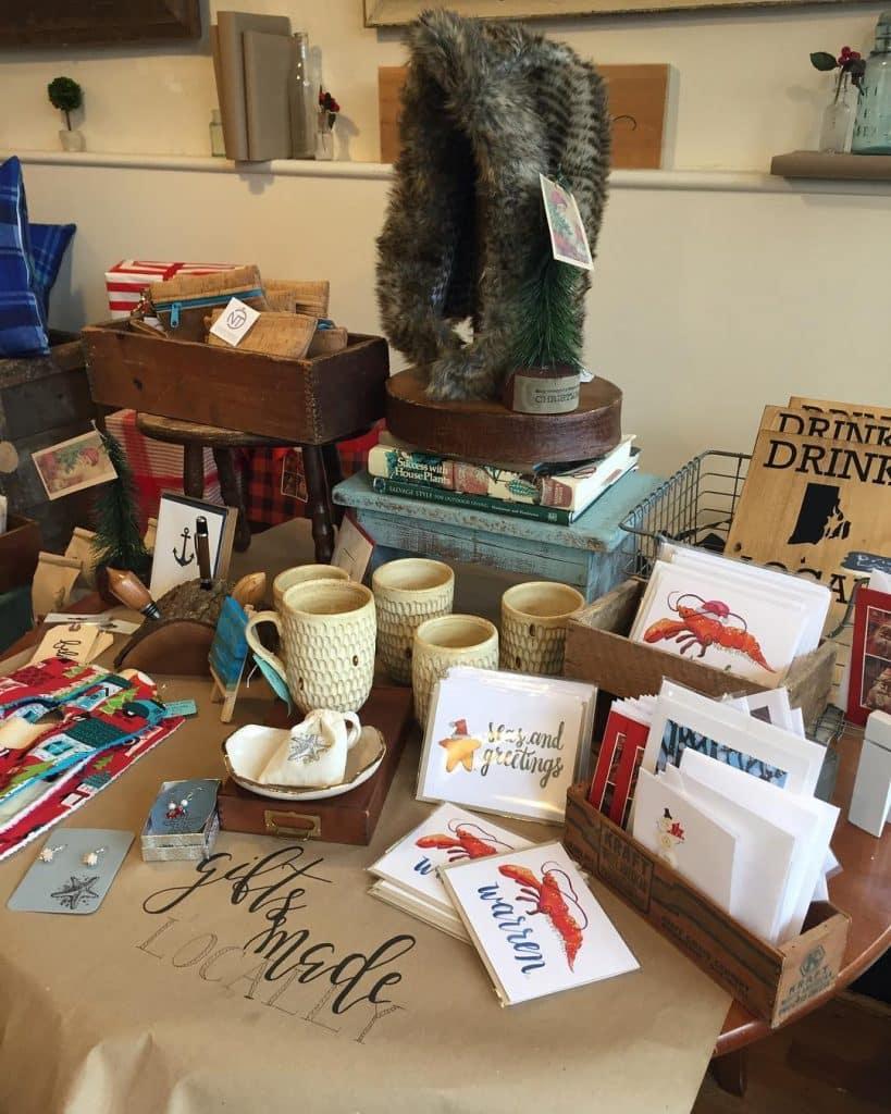 Ceruluan local gift shop in Warren, Rhode Island