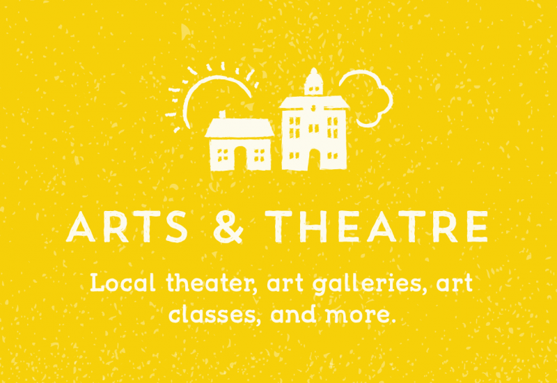 Arts in 02885: Local theater, art galleries, art classes, and more.