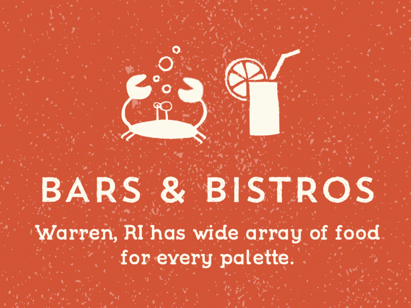 BARS & BISTROS Warren, RI has wide array of food for every palette.