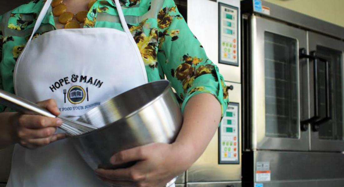 Hope & Main is Rhode Island's first culinary business incubator