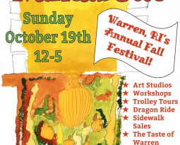 Warren Walkabout Oct 19th!