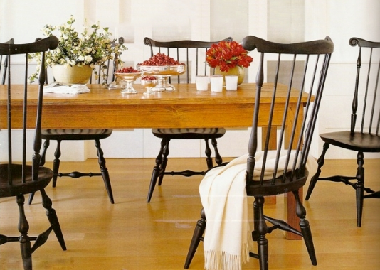 Warren Chair Works / O & G: making handcrafted Windsor Chairs since 1981